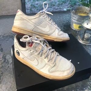 Year of the Dog White Nike Dunk Lows
